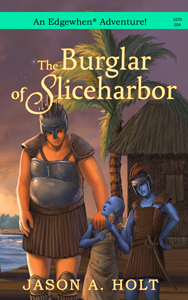 Cover for The Burglar of Sliceharbor