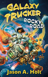 Cover for Galaxy Trucker: Rocky Road