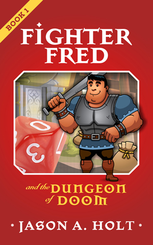 Cover from Fighter Fred and the Dungeon of Doom