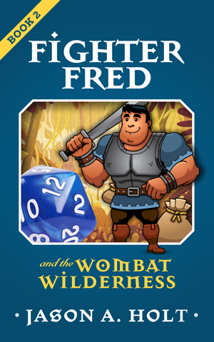 Cover for Fighter Fred and the Wombat Wilderness