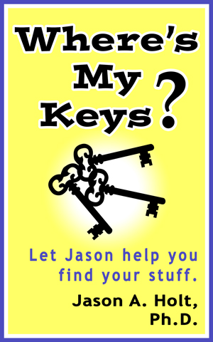 Where's My Keys? - Book cover.