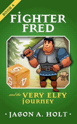 Cover for Fighter Fred and the Very Elfy Journey